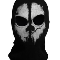 Generic Call of Duty 10 Ghosts Logan Last Mission Balaclava Full Face Skull Mask
