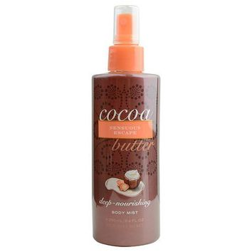 VICTORIA'S SECRET by Victoria's Secret SENSUOUS ESCAPE COCOA BUTTER BODY MIST SPRAY 8.4 OZ