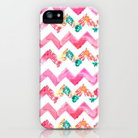 Sweet Juicy Chevron iPhone Case by Sara Berrenson | Society6
