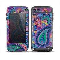 The Bold Colorful Paisley Pattern Skin for the iPod Touch 5th Generation frē LifeProof Case