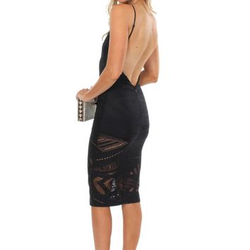 Late Night Lace Bodycon