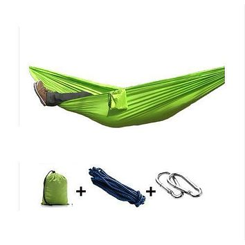 Hammock with Sleeping Bag - 260 x 140 cm