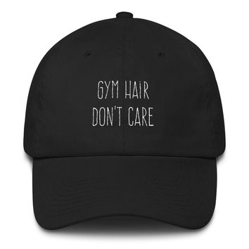 Gym Hair Cotton Cap