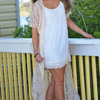 Long Lace Duster