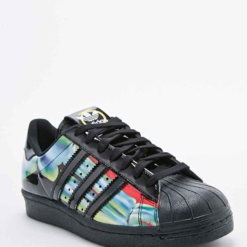 Adidas X Rita Ora O-Ray Superstar '80s Trainers in Black - Urban Outfitters