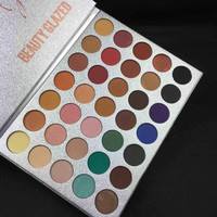 Jacly Hills Eyeshadow Pallete Silky Powder 35 Color Pigment Matte Makeup Rainbow Shimmer Eye Shadow Palette