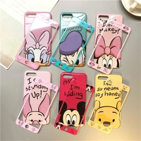360 Full Cover Phone Case + Screen Protector for IPhone X XS Max 7 6 S 6S Plus for Iphone7 Iphonex Iphone8 Coque Cartoon Cover