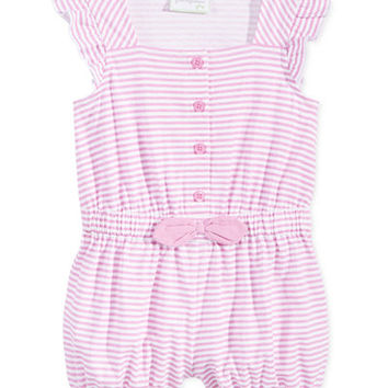 First Impressions Baby Girls' Striped Romper, Only at Macy's - Baby Girl (0-24 months) - Kids & Baby - Macy's