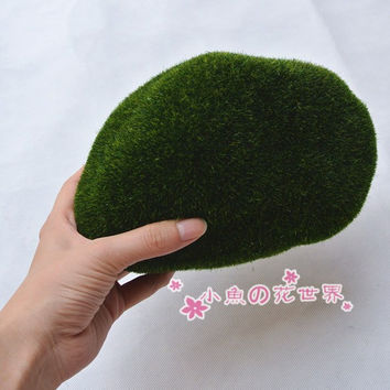 sale~1Pcs 17*14cm XL size/artificial moss/ fairy garden terrarium /home decor/crafts/bonsai/bottle garden/miniatures/T003 DIY
