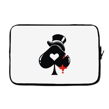 poker hat ace of spades Laptop sleeve