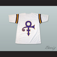 Prince Tribute White Football Jersey