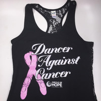 Dancer Against Cancer Tank Top