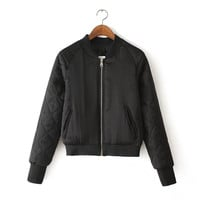 Baseball Winter Bomber Aviator Jacket
