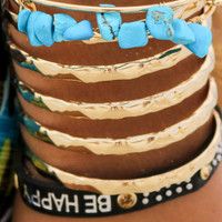 Hidden Treasure Stone Chip Bracelets
