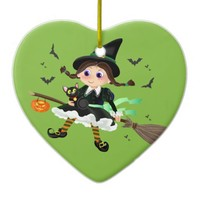 Little witch flying