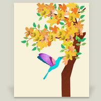 Hummingbird Art Print by Design4uStudio on BoomBoomPrints