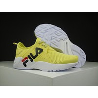 Fila 1751 Yellow Running Shoes Size 36-44.5
