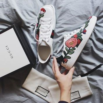 One-nice™ Gucci:Trending Fashion Casual Sports Shoes Flower I