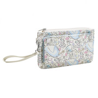Loungefly Disney Alice In Wonderland Pastel Double Snap Flap Wallet