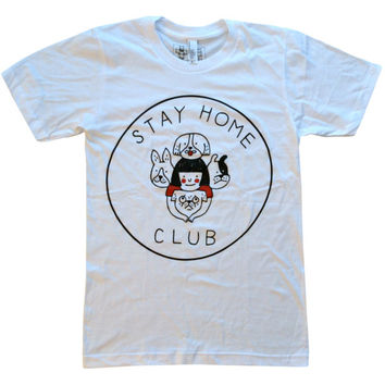 'Stay Home Club' Shirt
