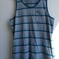 On the Byas PacSun Aqua Tanktop