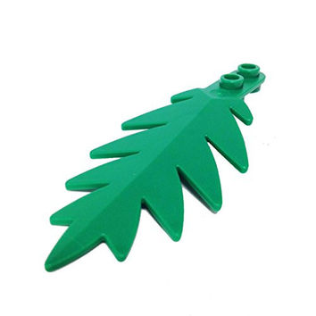 Lego Parts: Plant, Tree Palm Leaf Small 8 x 3 (Green)