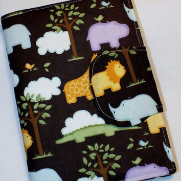 Giraffe Kindle eReader Cover Kindle Case Cover Nook Cover Kobo Cover Custom eReader Cover Lion Rhino Hippo Alligator Elephant