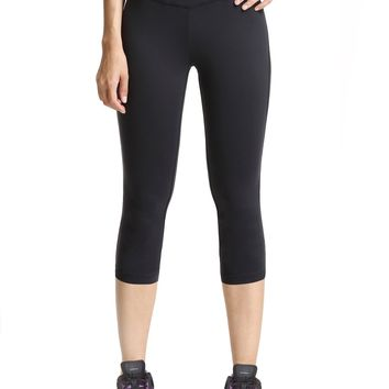Baleaf Women's Yoga Capri Pants Workout Running Legging Inner Pocket