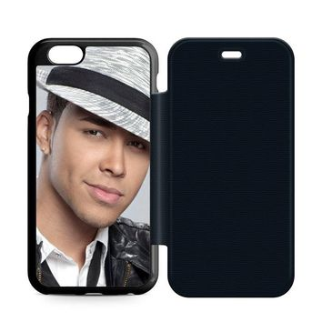 Prince Royce Hat Leather Wallet Flip Case iPhone 6 | 6S