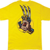 SC MARVEL WOLVERINE HAND SS S-YELLOW