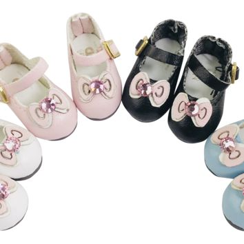 ANGELA Doll BOW TIE MARY JANES SHOES more colors