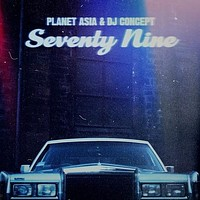 Planet Asia & DJ Concept - Seventy Nine (black Vinyl /  Alternate Art) -  (Vinyl)