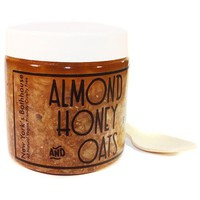 Almond Honey and Oats Body Polish Scrub