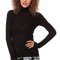 Black Turtle Neck Knit Top @ Cicihot Top Shirt Clothing Online Store: Dress Shirt,Sexy Womens Shirt,T Shirts,Corset Dress,White T Shirt,Girl T Shirt,Short sleeve top