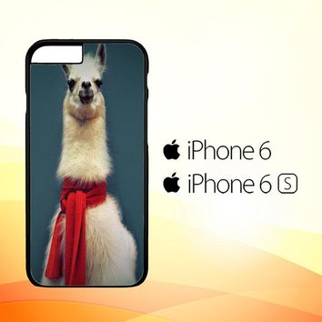 Animal Llama V0256 iPhone 6|6S Case