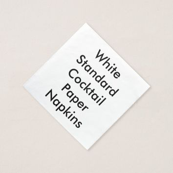 Personalized Paper Dinner Napkin