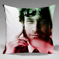 Aaron Eckhart 2 - Square and Regtagular Pillow Case One Side/Two Side.