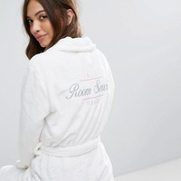 New Look Room Service Fluffy Robe at asos.com