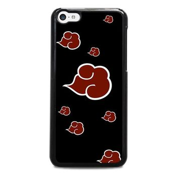 naruto akatsuki clouds iphone 5c case cover  number 1