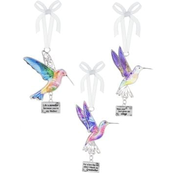 Humming Bird Ornaments