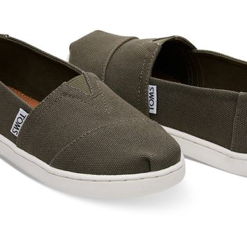 TARMAC OLIVE CANVAS YOUTH CLASSICS