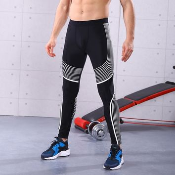 Hot sale Man Fashion sport pants Gym Clothes Workout Leggings Fitness Sports Gym Running Yoga Athletic Pants calzas deportivas