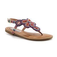 Steve Madden Girls' J-Sansa Beaded Sandals - Multi