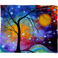 Madart Inc. Winter Sparkle Fleece Throw Blanket