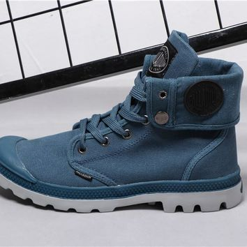 Best Deal Online PALLADIUM Canvas Men Women Sport Cuff Boots