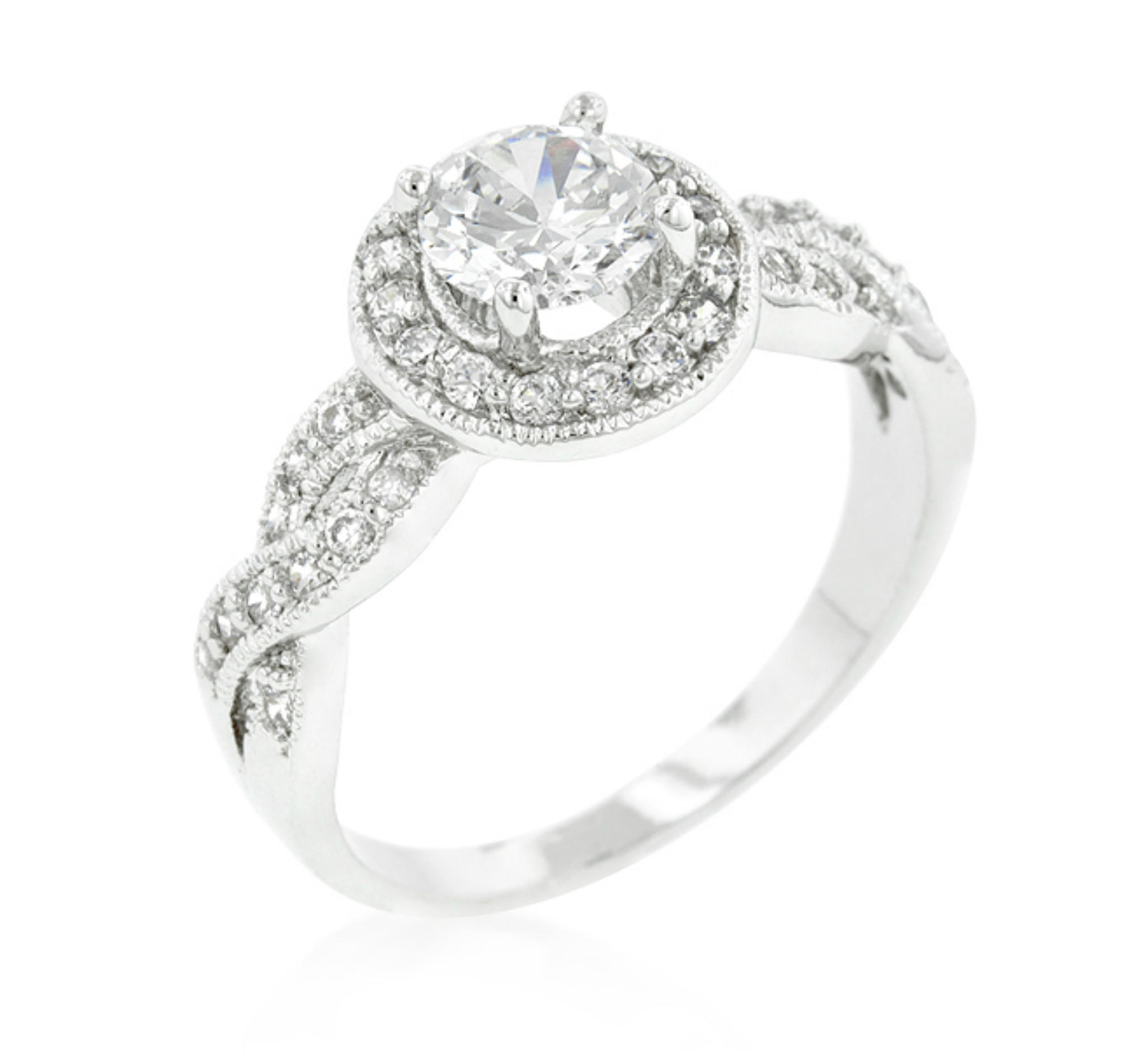 ring cut solitare style whiteview rings engagement round solitaire tiffany