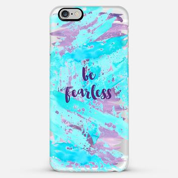 be fearless- transparent iPhone 6 Plus case by Sylvia Cook | Casetify