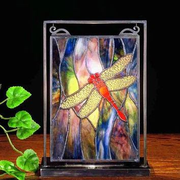 "0-010145>11""h Dragonfly Mini Window and Display"