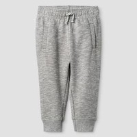 Baby Boys' Solid Jogger Pants - Cat & Jack™ Classic Gray