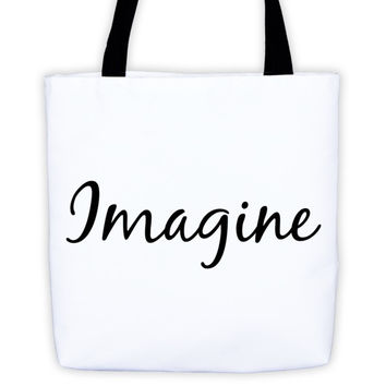 """Imagine"" Tote bag"